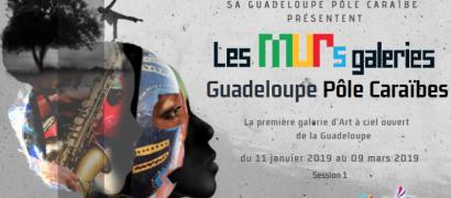 Les murs galeries : Guadeloupe pôle caraïbes
