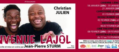 Bienvenue Lajol est de retour en Guadeloupe