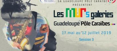 Les MURs galeries Guadeloupe Pôle Caraïbes, Session 3.