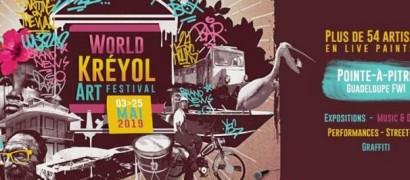 World kréyol art festival 2019 à Pointe-à-Pitre