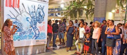 4e session des Murs Galeries à Guadeloupe Pôle Caraïbes