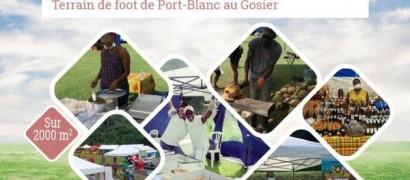 Village rural au Gosier à Port-Blanc tous les dimanches