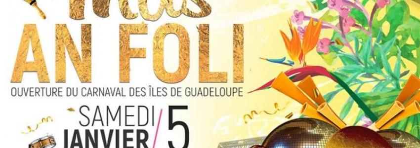 Carnaval 2019 en Guadeloupe : les premiers défilés et déboulés