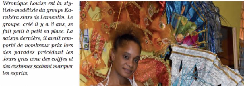 Carnaval 2019 en Guadeloupe : Véronique Louise styliste-modéliste