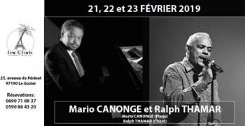 Mario Canonge et Ralph Thamar en concert au New Ti Paris