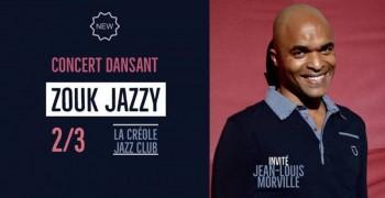Concert dansant Zouk Jazzy (invité : Jean-Louis Morville)