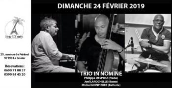 Trio In Nominé le 24 février au New Ti Paris