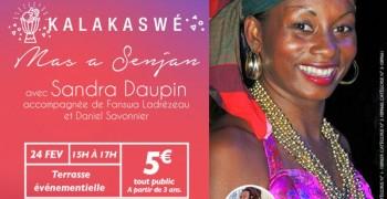 INITIATION-DANSE, KALAKASWÉ avec Sandra DAUPIN,