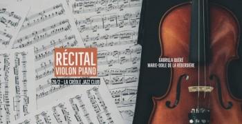 Récital violon piano