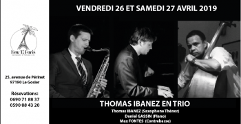 Thomas Ibanez Trio au New Ti Paris