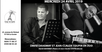 David Dahomay et Jean-Claude Coupin en Duo au New Ti Paris