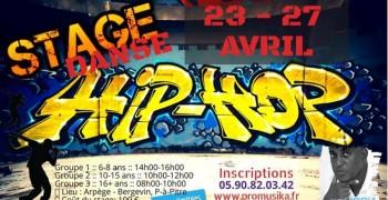 Stage de Hip-Hop -du 23 au 27 avril