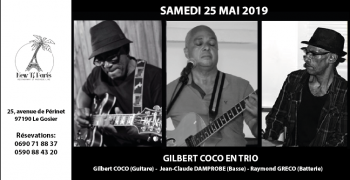 Gilbert Coco en Trio au New Ti Paris