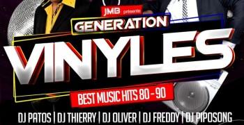 GÉNÉRATION VINYLES 100% Vinyles Mix Session 80/90