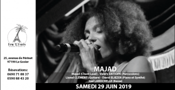Majad en Quintet au New Ti Paris