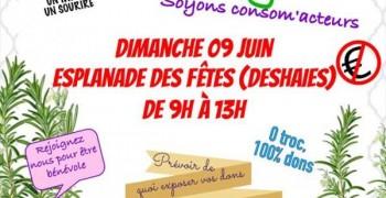 GRATIFERIA à Deshaies de 9 h à 13h esplanade des fêtes dimanche 9 juin