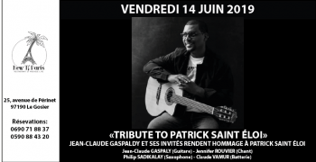 Tribute to Patrick SAINT ÉLOI - Hommage à Patrick SAINT ÉLOI au New Ti Paris