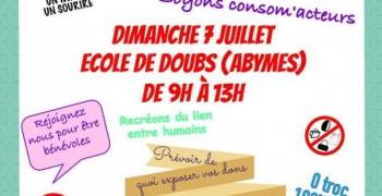 GRATIFERIA aux Abymes à l'ecole de doubs le dimanche 7 Juillet