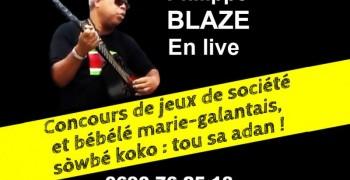 Philippe BLAZE en Live - Concours Jeux Société - Dégustation Bébélé - Sorbet