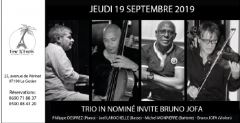 Trio In Nominé invite Bruno Bofa New Ti Paris