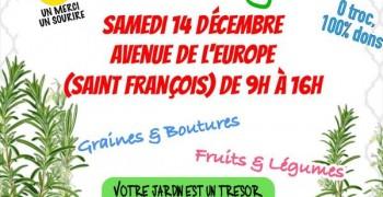 GRATIFERIA à saint Francois le Samedi 14 Décembre