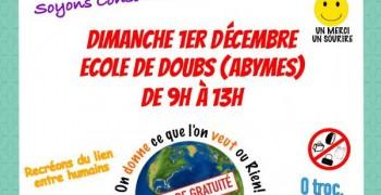 GRATIFERIA aux ABymes ( école de doubs) le dimanche 1 Décembre