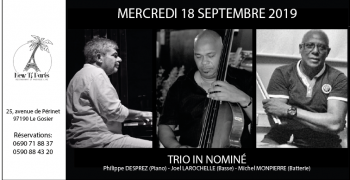 Trio In Nominé @ New Ti Paris