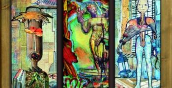 EXPOSITION HÉLÈNE DONADIEU, Peintre aux ciseaux