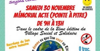 GRATIFERIA à Pointe à Pitre au mémorial acte le samedi 30 novembre