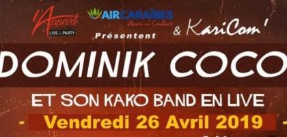 Concert de Dominik Coco