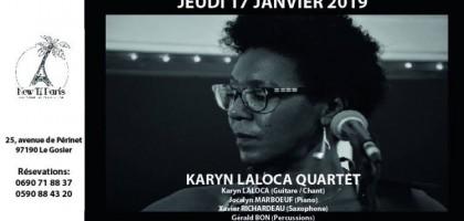 Karyn Laloca Quartet en concert au New Ti Paris