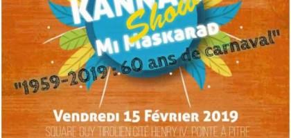 Kannaval show mi Maskarad