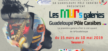 Les MURs galerie Guadeloupe Pôle Caraïbes