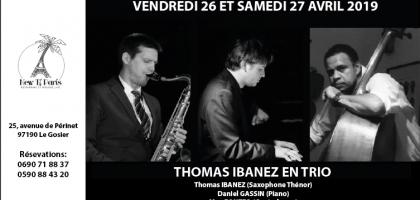 Thomas Ibanez Trio au New Ti Paris