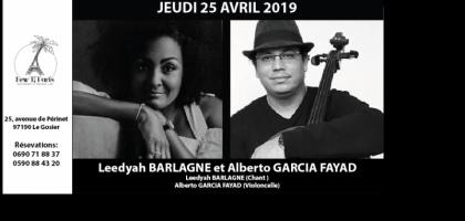 Leedyah Barlagne et Alberto Garcia Fayad en Duo