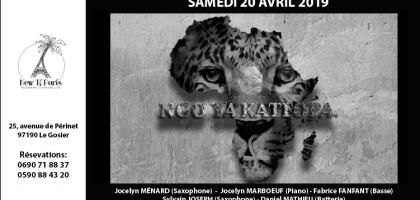 Ngo Ya Katiopa en concert au New Ti Paris