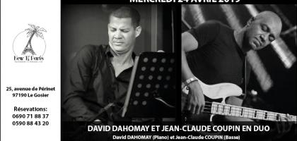 David Dahomay et Jean-Claude Coupin en Duo au New Ti Paris