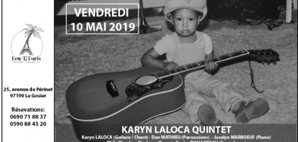 Karyn Laloca Quintet au New Ti Paris