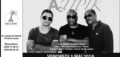 Actipik en concert au New Ti Paris