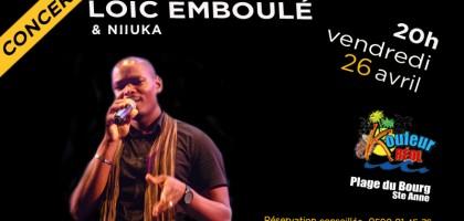 Concert de Loic Emboulé & Niiuka au Kouleur Kreol