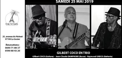 Gilbert Coco en Trio au New Ti Paris