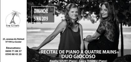 Récital de Piano à quatre mains du Duo Giocoso
