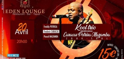 Kool trio :  rencontre musicale entre Caracas, Potrisa et Mazamba.