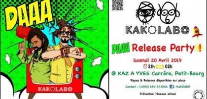 KakOLabO - DAAA Release Party