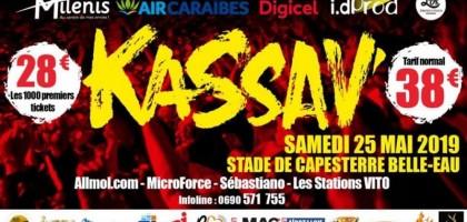 Kassav en concert à Capesterre Belle-Eau
