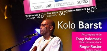 Concert Groove Kreol avec Kolo Barst