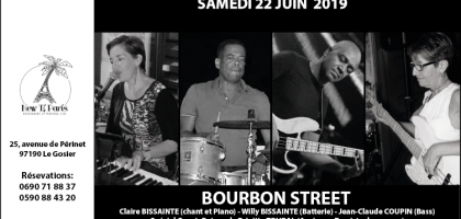 Bourbon Street au New Ti Paris