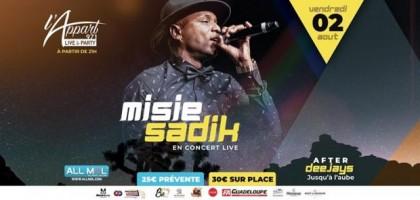 Misié Sadik - En Live