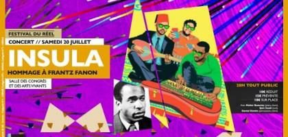 Insula : hommage musical à Frantz Fanon