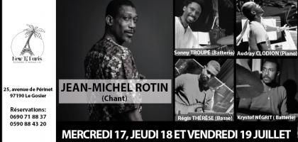 Jean-Michel ROTIN en concert au New Ti Paris